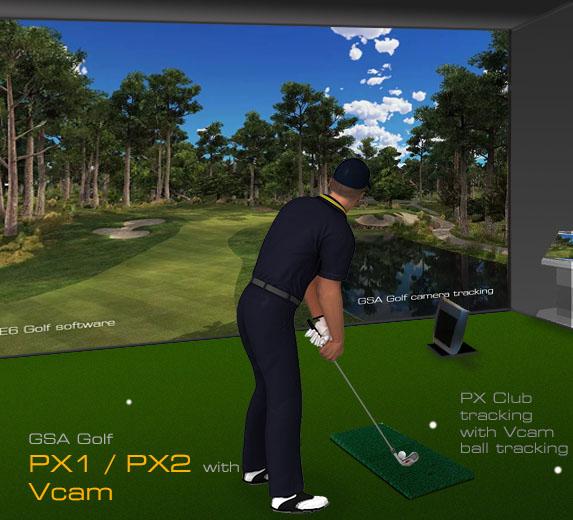Gsa Advanced Golf Simulators Home